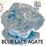 large Raw Blue Lace Agate